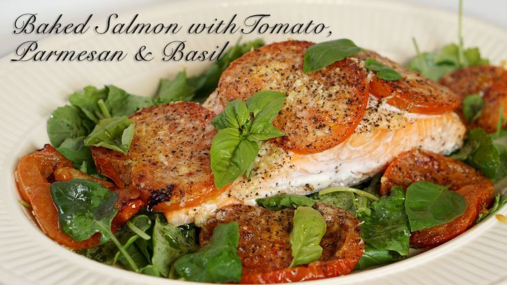 baked-salmon-with-tomato-parmesan-basil