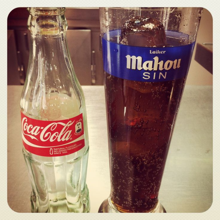 Tomar una Coca-Cola en vaso de cerveza sin alcohol #desenuentros