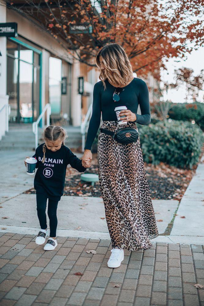Mar 25, 2020 – animal print // little girl style // long skirt long sleeved shirt //#fallfashion How to Style an Edgy an…