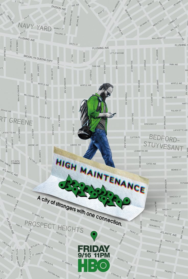 High Maintenance HBO Series Poster