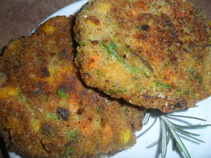 Finom, fűszeres zöldségfasírt