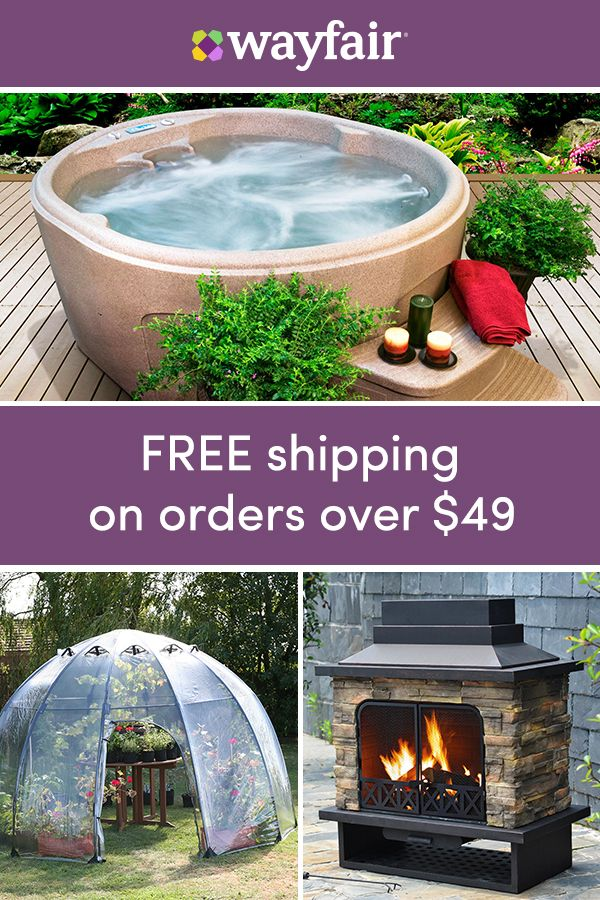 sign up for access to exclusive sales all at up to 70 off - Wayfair Hot Tub