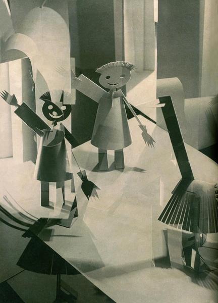 Alexander Rodchenko- Illustrations (1926) for The children's book « Samozweri » by Sergei Tretyakov published in 1928