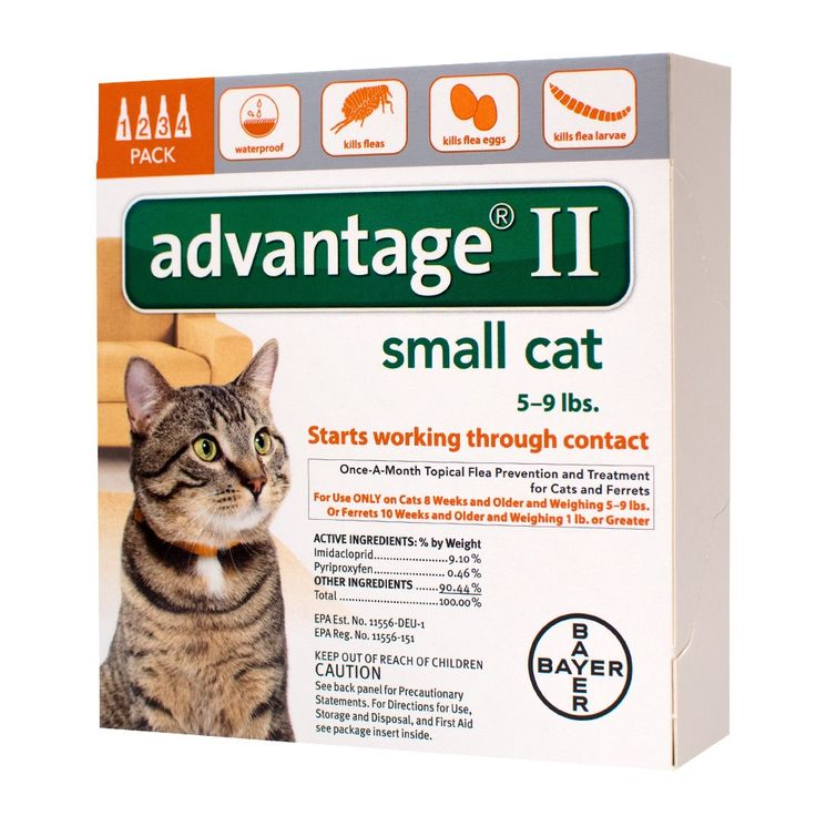 Bayer advantage ii topical flea prevention and treatment