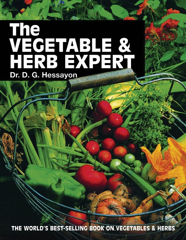 The new vegetable and herb expert hessayon