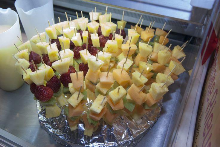 Spiedini fruttosi :) #bontà #salute #frutta #colori