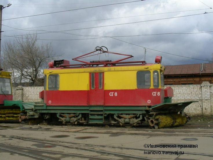 СГ-8 в Иванове, производство 1983 года.