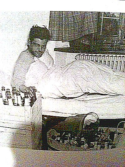 """Capt. Lewis Nixon the morning after V-E Day.""""The one who really took advantage of the…"""