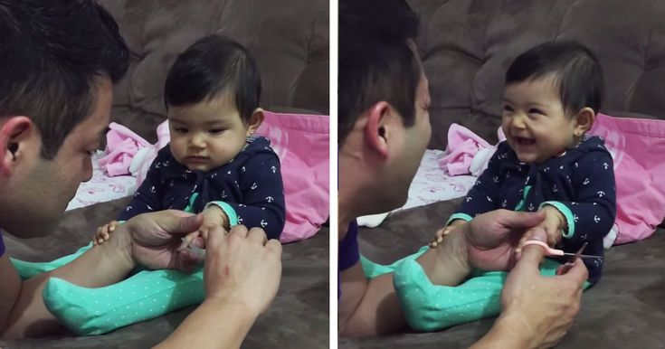 Marcelinha, an adorable little girl in Sao Paulo, Brazil, has just become the internets cutest prankster after a video of her pranking her dad went viral. Every time dad went in to cut her nails, Marcelinha would cry out, scaring dad before bursting into laughter.