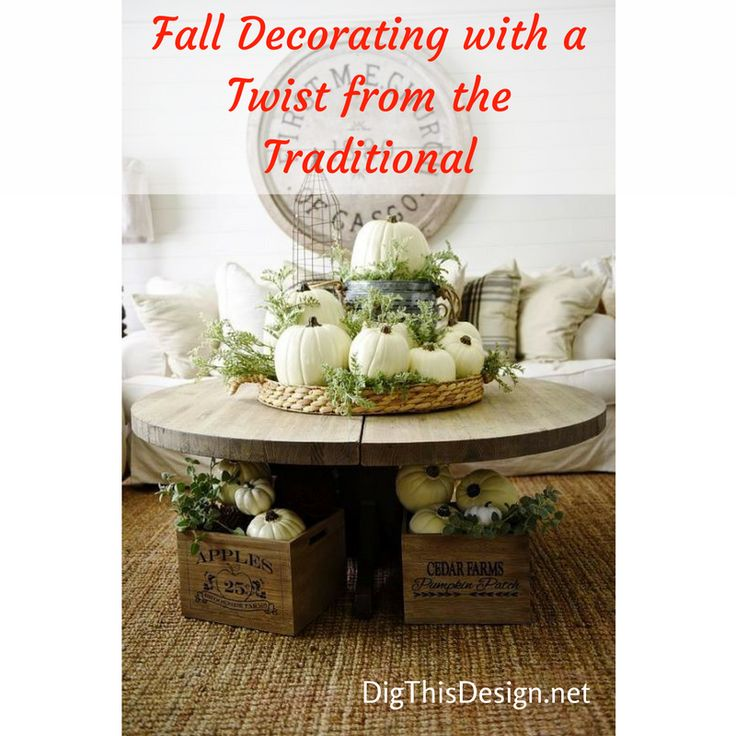 Fall is here and my mind is on decorating for the season. I love stepping slightly out of the box for seasonal décor and today's post is a how-to without losing the traditional vibe. Would love to hear from you on ideas for seasonal decorating by just leaving a comment at the end of the post in the blog.