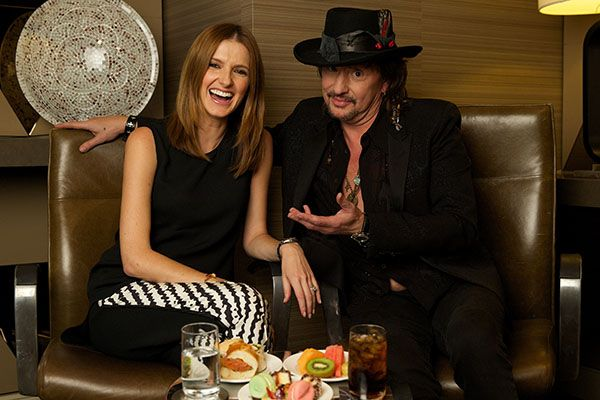 Date With Kate: Richie Sambora I caught up with Sambora during his recent visit as a headliner of the Soundwave festival to chat about leaving Bon Jovi to spend more time with his daughter, Ava, how he loves his ex-wife Heather Locklear more now than when they were married, and the Bon Jovi songs he will never play again.