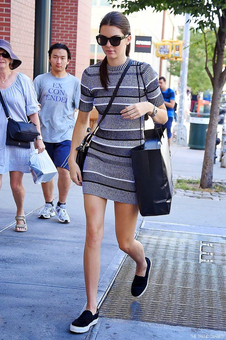 Kendall Jenner at Barneys New York in New York, New York ...