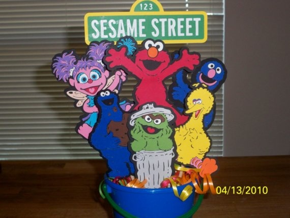 Sesame Street Cricut Centerpiece