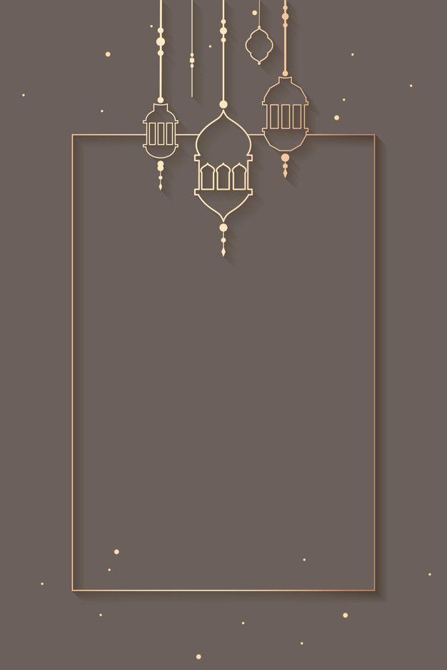 Download Ramadan Framed Background Design For Free Desain Banner Estetika Langit Poster Abstrak