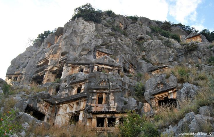 The ruins of the ancient #Myra in #Demre #Turkey
