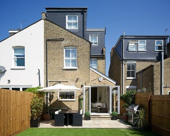 Great Interiors: A London Terrace With Perfect Pitch | Glass Extension, Victorian  Terrace And Extensions