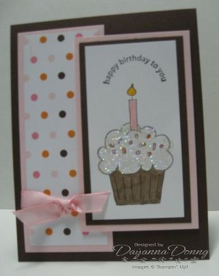 """Stampin Up """"Crazy for Cupcakes"""""""
