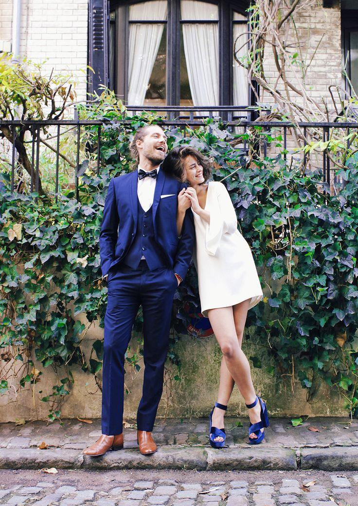 Avis à ces messieurs, futurs mariés du printemps et de l'été, il va falloir commencer à chercher votre tenue pour le jour J, en particulier si vous souhaitez dusur-mesure. On ne le redira jamais assez, mais le plus important, c'est de vous sentir à l'aise dans vos baskets (et oui, vous avez le droit de …