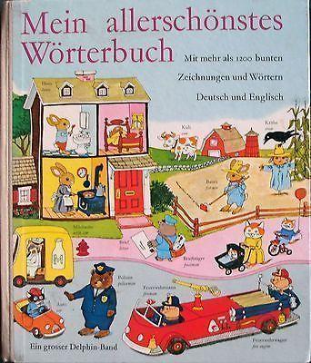 """""""Mein allerschönstes Wörterbuch"""" - German English / Deutsch Englisch - Richard Scarry"""