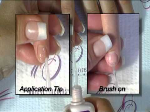 How to do Fiberglass & Silk Nails. Tutorial by Backscratchers