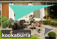 Toldos Vela Kookaburra Aguamarina Triangular 3.0m (Impermeable)