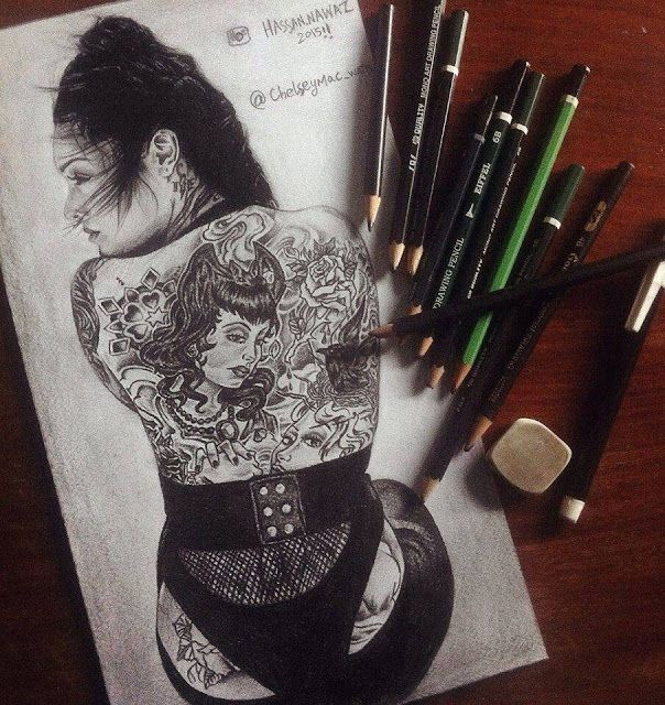 Diary of Seresha: Featured Artist # 8: A tattoo Fanatic: Hassan Nawaz