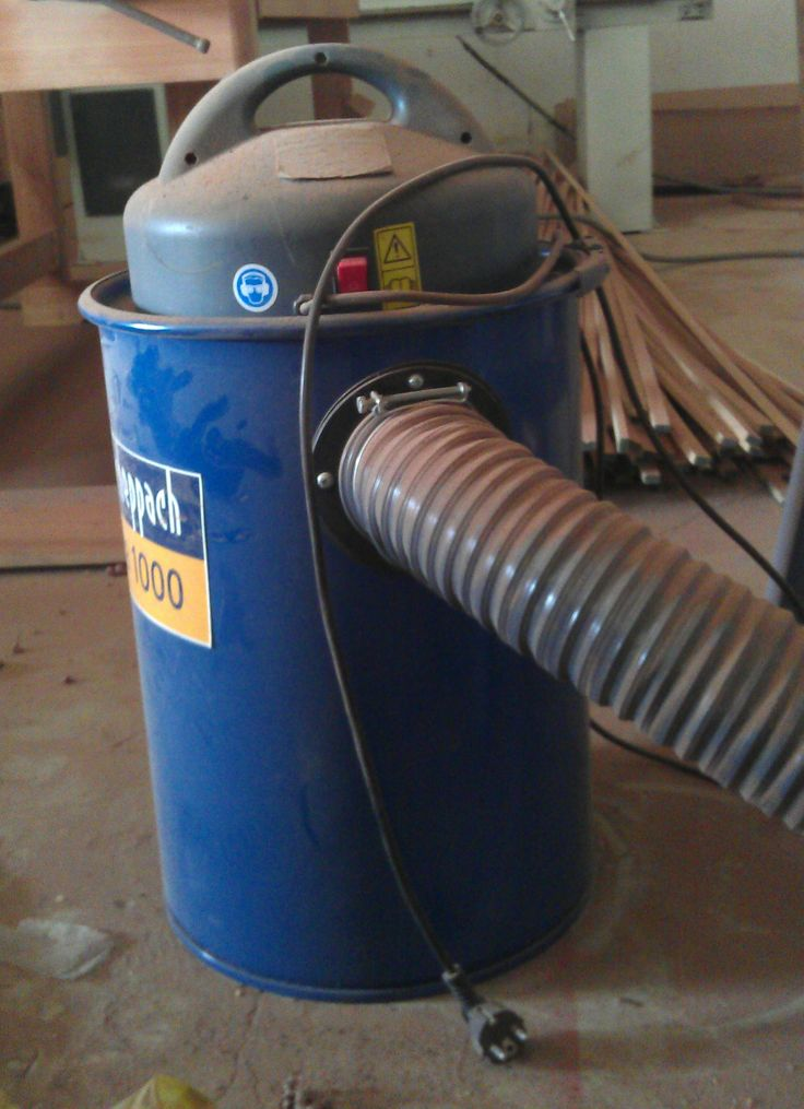 Mobile dust collector.
