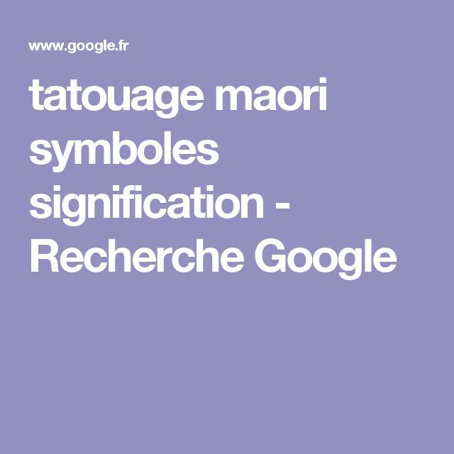 1000 ideas about maori symbols on pinterest maori maori tattoos and symbol for family - Tatouage maorie signification ...