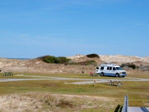 Outer Banks camping spots