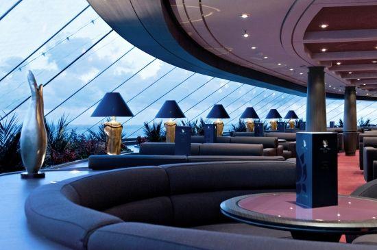 #MSCKreuzfahrten #MSCYachtClub #Luxus #TopSailLounge