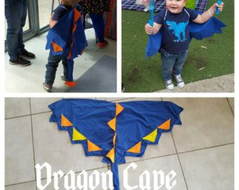 Red Toddler Dragon/Dinosaur tail costume by HumbleLuna on Etsy