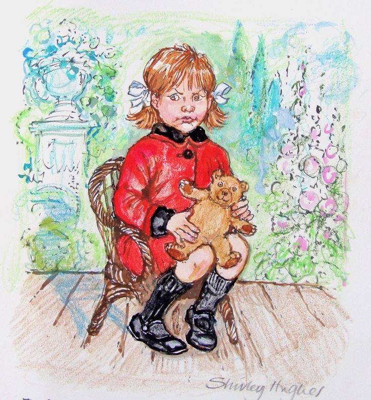 Naughty Little Sister  by Shirley Hughes. My mom told me about her and I read her to my kids too, great heritage to pass on.