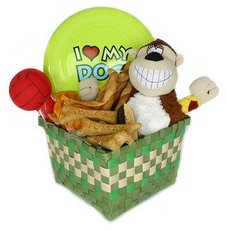 16 best gift baskets for pets images on pinterest dog treats great diy gift basket that is perfect for your dog fill and simple negle Gallery