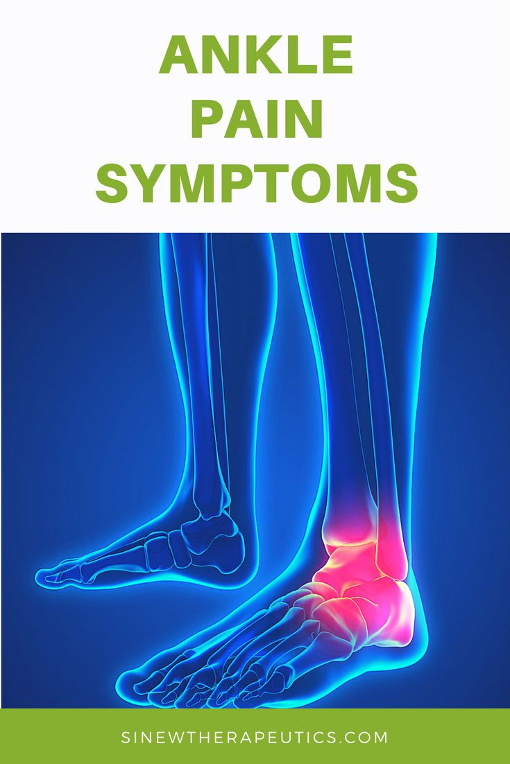 how to get rid of ankle pain fast