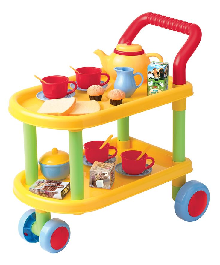 Toy Tea Sets For Boys : Tea time trolley play set zulily houses