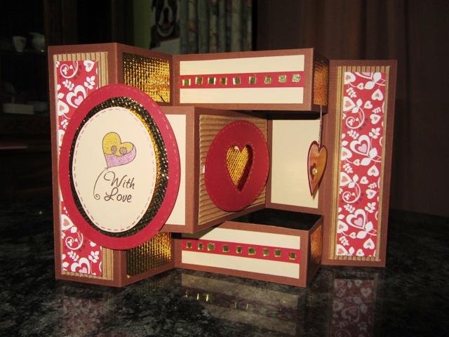 multi-fold card