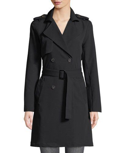 Faye Double-Breasted Trench Coat