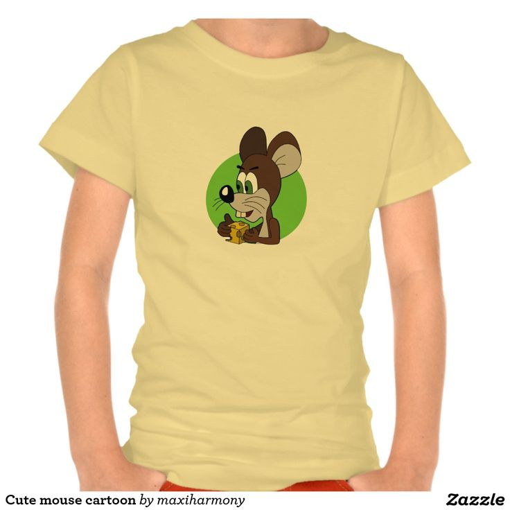 Cute mouse cartoon t shirt