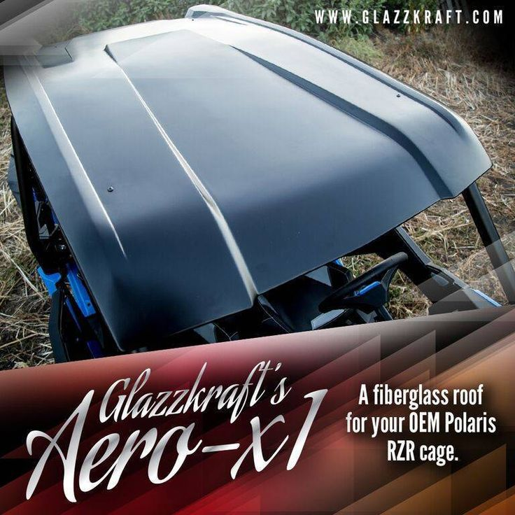 Alba Racing RZR XP1000 & Turbo (4 Seat) Aero X-1 Roof