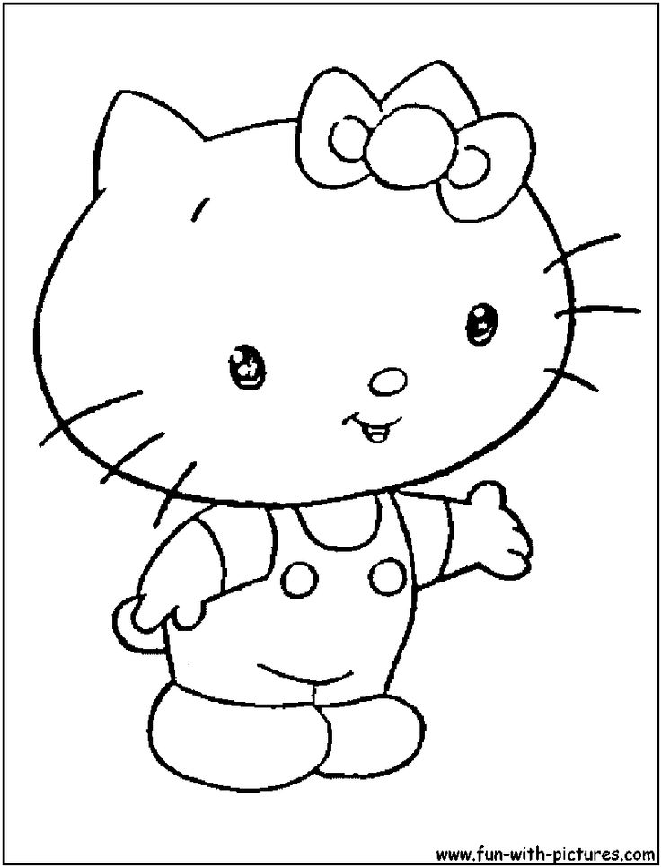 babyhellokitty coloring pagepng 8001050 - Kitty Ballet Coloring Pages