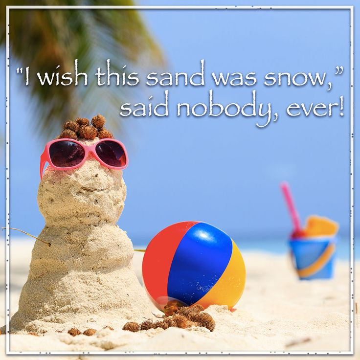 "Our #beaches give a whole new meaning to ""White Christmas""!! Come see us!"