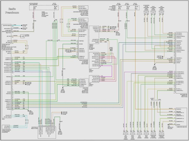 2005 Dodge Ram Stereo Wiring Diagrams, 2007 Jeep Grand Cherokee Srt8 Stereo Wiring Diagram