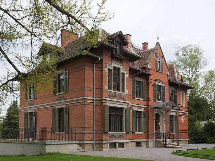Villa Schönberg bij Zürich dat Wesendonck in bruikleen gaf aan Wagner; hij componeerde daar delen van Tristan und Isolde en de Wesendoncklieder