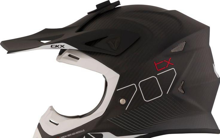 Casque hors route TX707 en fibre de carbone de CKX - Moto Journal