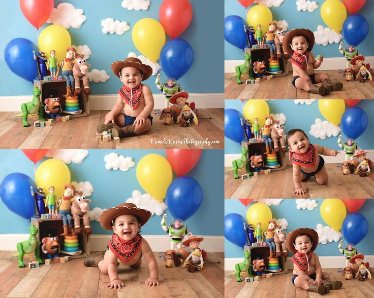 Kennesaw Baby Photographer Toy story party decorations