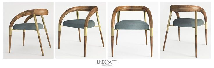 NEILA DINING CHAIR #neila #diningchair #chair #linecraft #craft #newdesign #furniture #midcentury #product