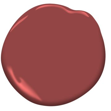 Benjamin Moore Paint Color Maple Leaf Red