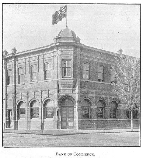 Bank Of Commerce, Goderich, Ontario c.1897 #Goderich #RediscoverGoderich #VintageGoderich