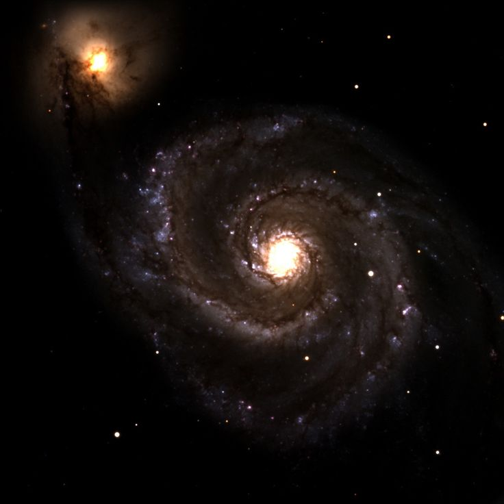 M51, The Whirlpool Galaxy  Credit: Lowell Observatory