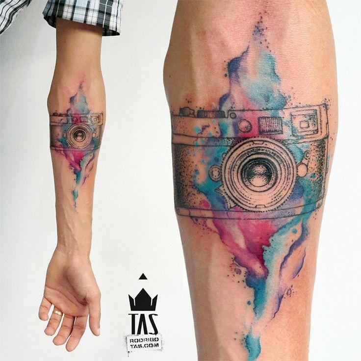 Watercolor Tattoo                                                                                                                                                     Mais